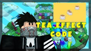 HOT CODE FOR THE CUPS OF TEA EFFECT IN EPIC MINIGAMES | ROBLOX