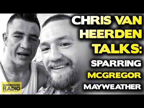Chris Van Heerden says McGregor should take Mayweather fight, offers to train him