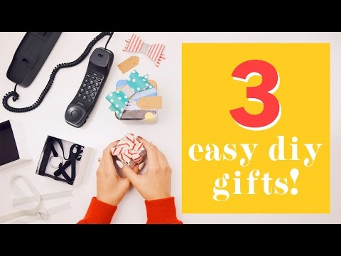 EASY Last Minute DIY Gifts | WITHWENDY