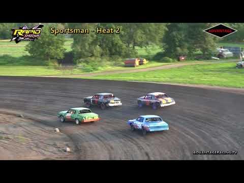 Sportman Heat/Feature - Rapid Speedway - 7/6/18