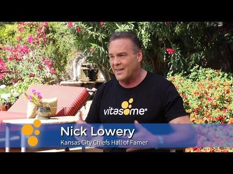 Nick Lowery on Vitasome