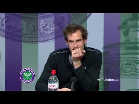 Funny Andy Murray Wimbledon Press...