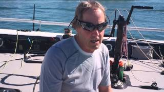 Interview with Steve Benjamin, owner of Carkeek 40 Spookie, at Quantum Key West 2014