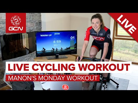LIVE Indoor Cycling Workout | Manon's Interval Training Session