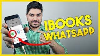 Como compartilhar PDF do iBooks por WhatsApp no iPhone