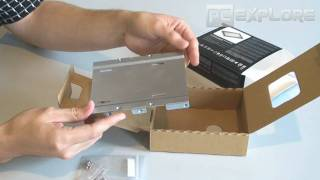 intel x25 v ssd unboxing review and test russian