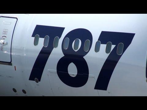 787 at Okayama Airport