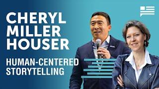 The Science of Storytelling with Cheryl Miller Houser | Andrew Yang | Yang Speaks