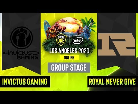 Royal Never Give Up vs Invictus Gaming vod