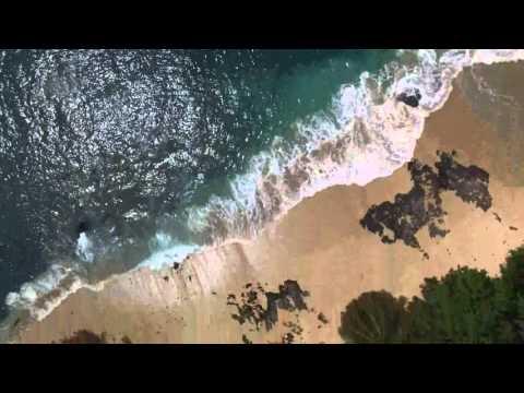 Drone Praia Popa  -  Ilha do  Príncipe - São Tomé & Príncipe