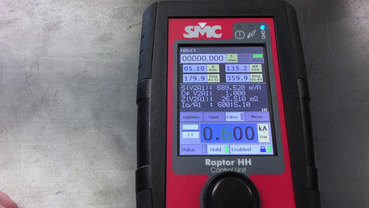 SMC Raptor CT Testing , www smcint com , Current Transformer Testing