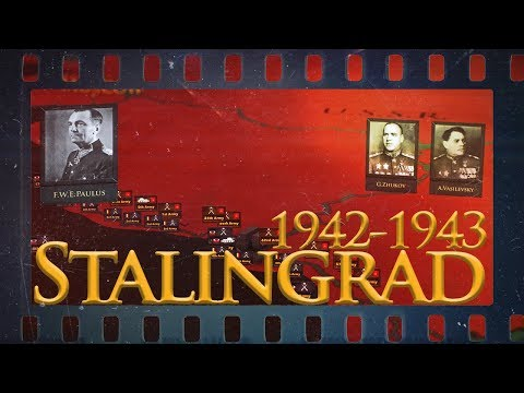 Battle of Stalingrad 1942-1943 - World War II DOCUMENTARY
