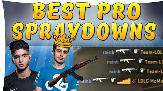 CS:GO - Best of Pro Spraydowns ft. shroud,scream,paszabiceps  and more