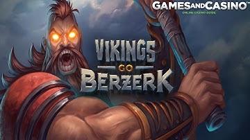 """Online casino slot """"Vikings Go Berzerk """" (review)"""