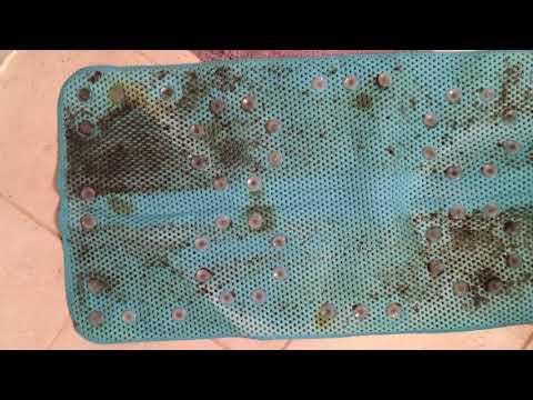 Moldy Anti-Slip Bathtub Mat From Walmart