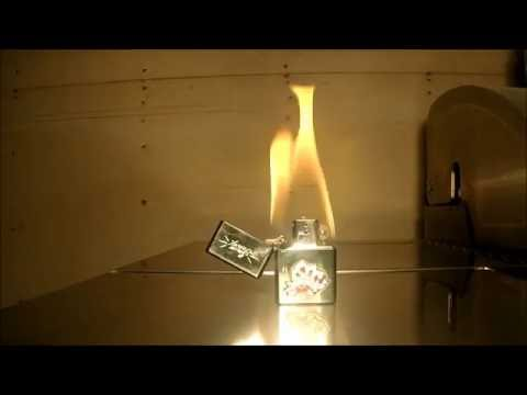 What Happens When You Keep A Zippo Lighter Lit On Fire For 10 Minutes