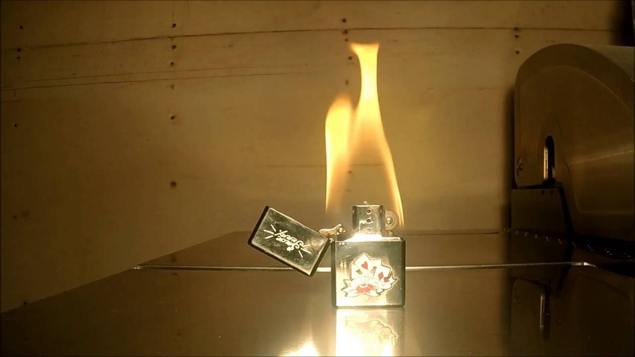 What Happens When You Keep A Zippo Lighter Lit On Fire For ...  What Happens Wh...