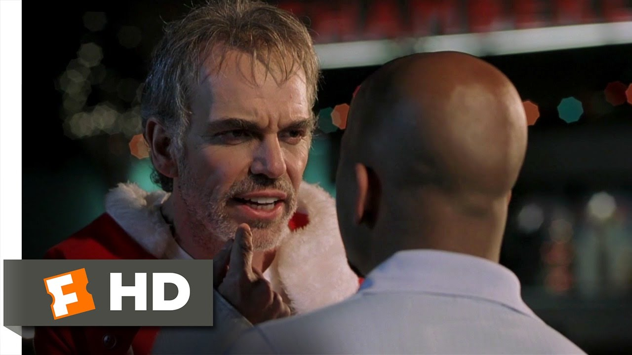 Bad Santa 312 Movie Clip F Me Santa 2003 Hd Youtube