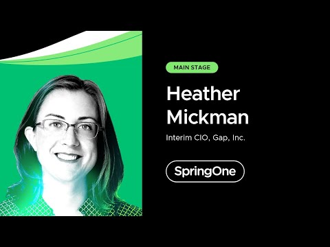 Heather Mickman at SpringOne 2021