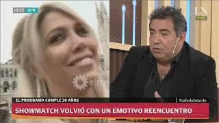Showmatch volvió con un emotivo reencuentro: la palabra de Diego Pérez tras el primer programa