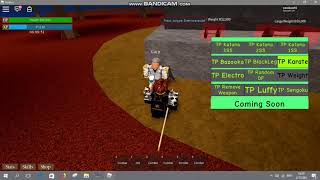 Roblox One Piece Millennium Hack UPDATE Gui TP All NPC/TPDF/More