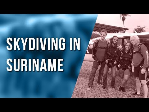 Skydiving in Suriname