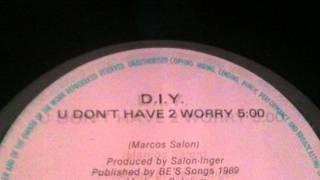 D.I.Y.-- U Don