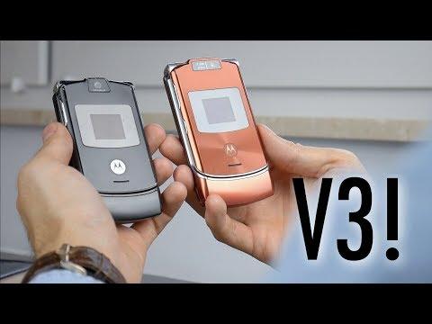 Motorola RAZR V3 🔪 | retro RECENZJA
