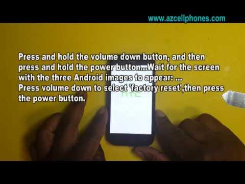 HTC One SV - Hard Reset
