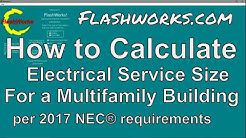 multifamily Electrical Service Load Calculation