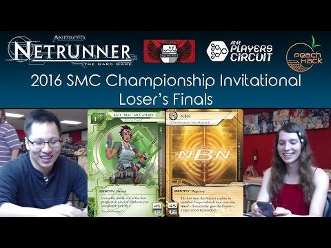 Netrunner - Kate vs. NBN: Controlling the Message - 2016 SMC Championship - Loser's Finals