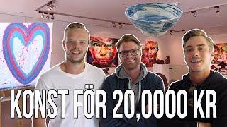 Video VI SÄLJER VÅR EGEN KONST FÖR 20,000 KR!!! download MP3, 3GP, MP4, WEBM, AVI, FLV Oktober 2018
