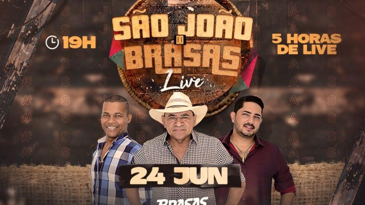 BRASAS DO FORRÓ - LIVE SÃO JOÃO  DOS BRASAS