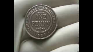 1923 ONE PENNY Australian (KING GEORGE V) Mint-GEM Coin-FOR SALE