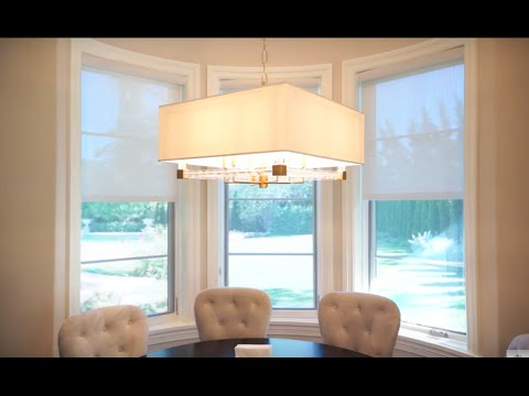 Screen Shades: Kitchen Window Shade Ideas for Privacy and Light Control | Galaxy-Design Video #124