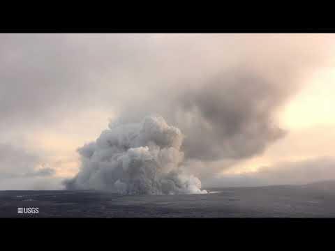 Kīlauea Volcano — Summit Explosion (May 24, 2018)