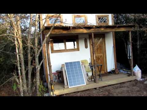2000$ off grid tiny house tour