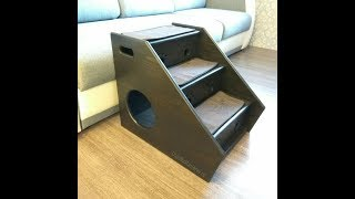 Прикроватная лесенка-домик для собак или кошек