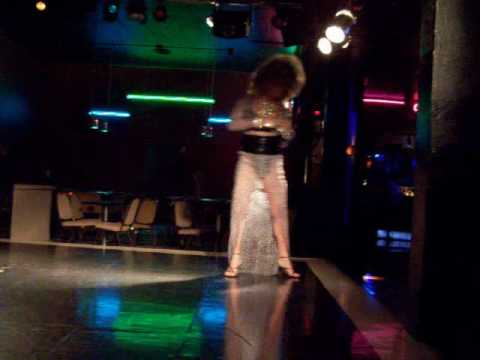 Jami Micheals performing Guilty by Jesse James drag queen