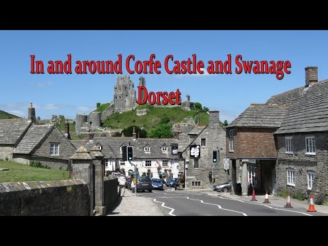 In and around Corfe Castle and Swanage Dorset wmv