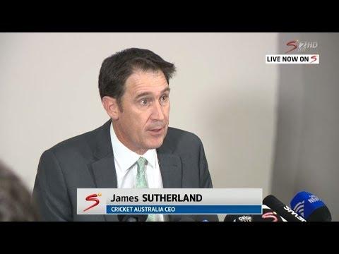Cricket Australia - Press Conference