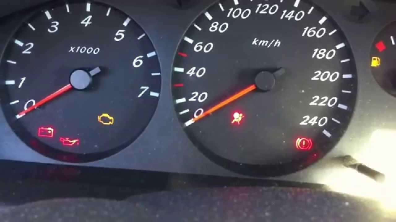 Apagar Luz De Airbag Nissan Almera Turn Off The Airbag