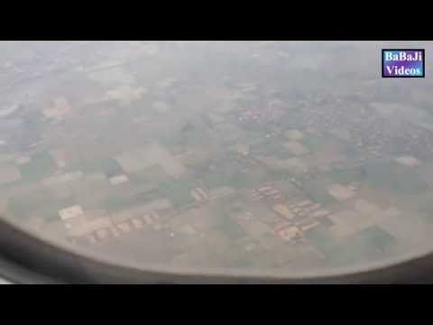 To Sialkot Airport, Flying over Gujranwala, Daska and Jamke Cheema.