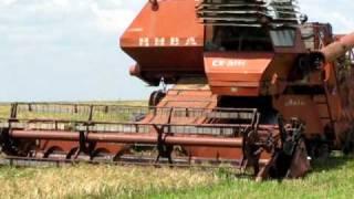 Комбайн Нива СК 5 М1 Combainas niva Sk 5 M1 harvester
