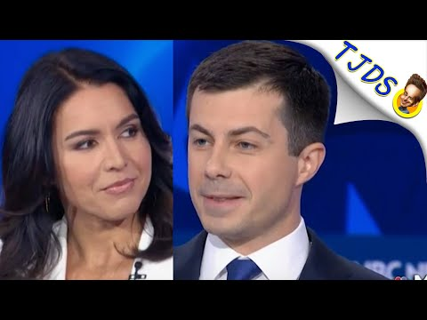 Tulsi Exposes Buttigieg & He Responds With Tired Smears