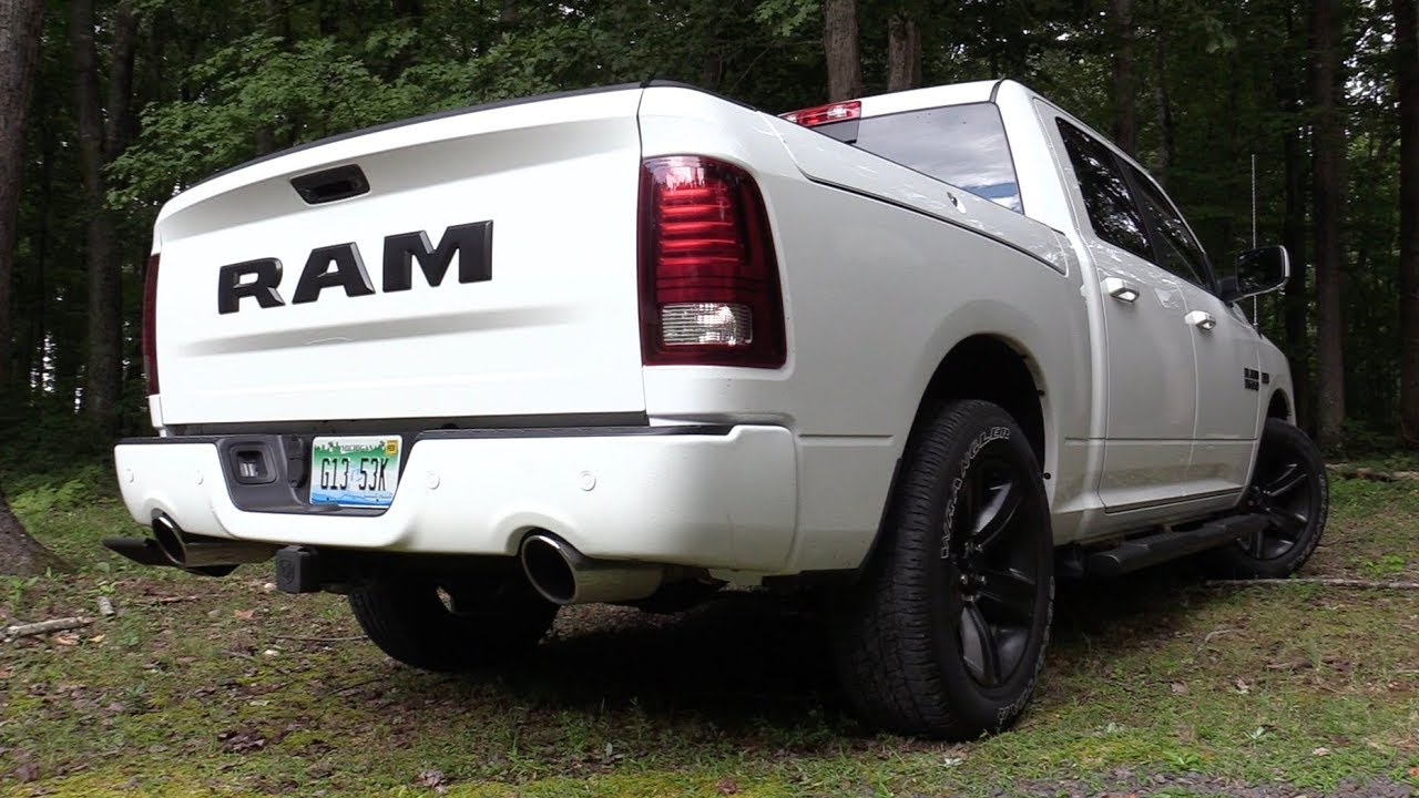 Ram 1500 Exhaust >> Pure Sound 2017 Ram 1500 Night Edition W Mopar Exhaust Cold Air