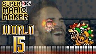 Super Mario Maker 3DS - Super Mario Challenge - World 15