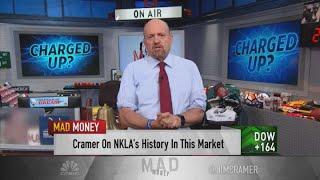Jim Cramer: Nikola stock is a 'victim of its own success'