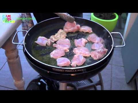 Cadac Paella Pan 47 Cm.Camping Paella Op De Skottelbraai Campingtrend Youtube