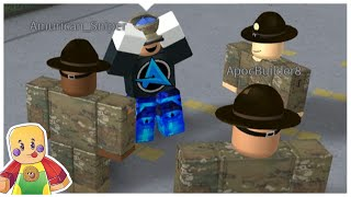 Trolling & Exploiting Roblox Army Groups